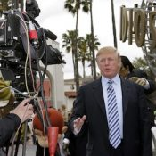 Donald J. Trump at the sixth season casting call search for 'The Apprentice' held at the Universal Studios in Hollywood, USA on March 10, 2006.