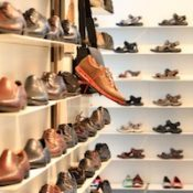 """Shoes on the Shelf at the Shoe Store"" by Public Domain. Public domain."