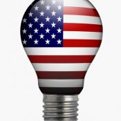 American flag lightbulb - https://depositphotos.com/84382632/stock-photo-bulb-light-with-american-flag.html