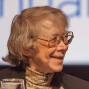 Judge Pauline Newman of the United States Court of Appeals for the Federal Circuit, October 2015 at the AIPLA annual meeting.