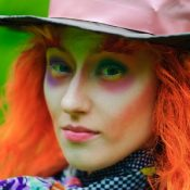 The Mad Hatter, known for asking the most famous unanswerable riddle.