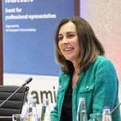 RobertaRomano-Götsch, chief operating officer of Mobility and Mechatronics at the European Patent Office (EPO).