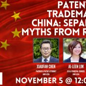 Patents and Trademarks in China